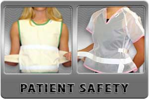 Patient Safety Vests, Ponchos, & Jackets