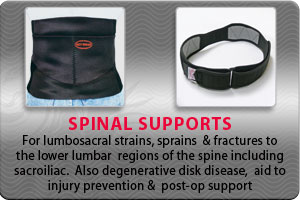 Spinal Supports