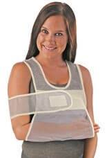 Comfort Vest & Shoulder Immobilizer Velcro Closure