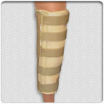 Deluxe Foam Lined - Velcro Closure Knee Immobilizer