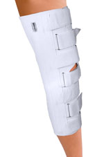 Deluxe Perforated Cotton Lined Knee Immobilizer