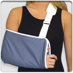 Deluxe Arm Sling Buckle Closure with Thumb Loop