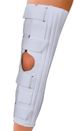 Deluxe Felt Lined - Knee Immobilizer