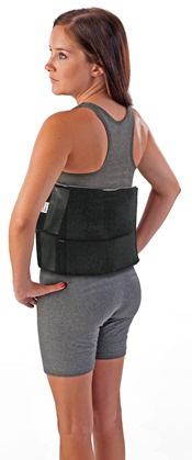 Foam Cryotherapy Back Wrap 2 Pocket