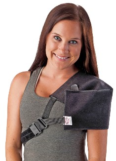 Compression Post-Op Cryotherapy Shoulder Wrap w/ Quick Release Buckle