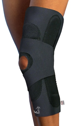 "Econo Hinged Lateral ""J"" Patella Brace"