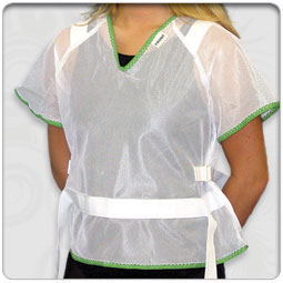 Patient Safety Jacket - Zipper Back