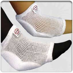 Tubular Knit Heel & Elbow Protectors with Polyurethane Foam