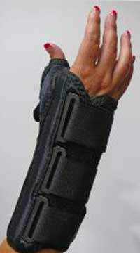 Ultimate Supreme™ V Wrist Support with Thumb Spica, 8""